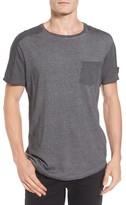 Scotch & Soda Men's Oil-Washed Pocket T-Shirt
