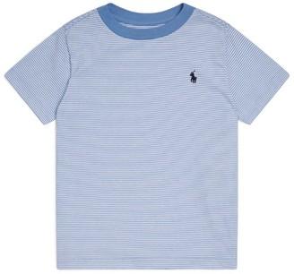 Ralph Lauren Kids Pinstripe T-Shirt (5-7 Years)