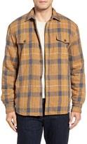 True Grit Men's Summit Baja Plaid Flannel Shirt Jacket