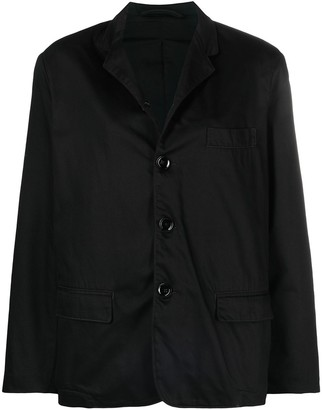 Lemaire Single-Breasted Cotton Blazer