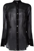 Ann Demeulemeester semi sheer shirt