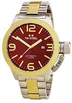 TW Steel Men's CB76 Analog Display Quartz Two Tone Watch