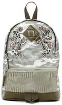 Madden-Girl Printed Mini Nylon Backpack