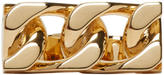 Marc Jacobs Gold Double-Link Ring