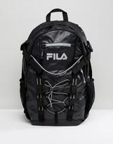 Fila Vintage Grazia Backpack In Black