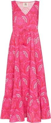 Figue Indira batik-print maxi dress