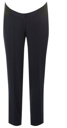 Dorothy Perkins Womens Maternity Navy Ankle Grazer Trousers