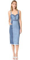 Nicholas N Denim Pinafore Dress