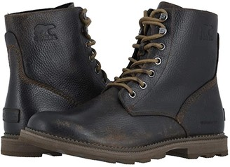 Sorel 6 Madsontm Boot Waterproof (Tobacco/Mud) Men's Lace-up Boots