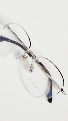 Victoria Beckham Round Metal Glasses