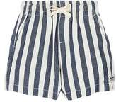 Scotch Shrunk STRIPED COTTON CANVAS SHORTS