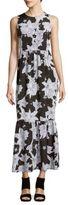 Cynthia Steffe Cece Sleeveless Floral-Print Dress