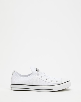 Converse Chuck Taylor All Star Shoreline Knit Slip Low Top Sneakers