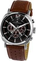 Jacques Lemans Men's 1-1645C Lugano Sport Analog Chronograph Watch