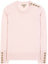Burberry Embellished Cashmere Sweater