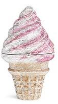 Judith Leiber 'Ice Cream Cone' crystal pavé minaudière