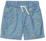 Ralph Lauren 2-7 Embroidered Cotton Short
