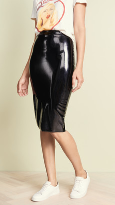 Commando Perfect Patent Midi Skirt