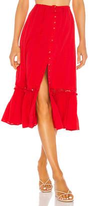 Majorelle Gypsum Skirt