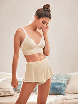 Victoria's Secret Victorias Secret Ribbed Sleep Short