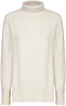 'S Max Mara High Neck Knit Sweater