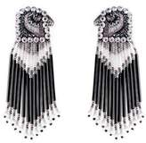 Forest of Chintz Silver Peregrine Earrings