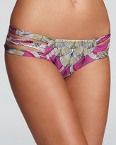 Mara Hoffman Feather Strappy Hipster Bikini Bottom
