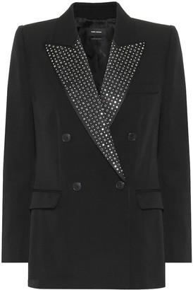 Isabel Marant Paryam embellished wool blazer