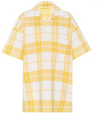 Jacquemus Le Polo Torchon checked polo shirt