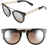 Bobbi Brown Women's The Woodson 48Mm Gradient Sunglasses - Black