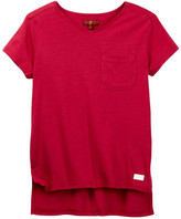 7 For All Mankind Short Sleeve Knit Tee (Big Girls)