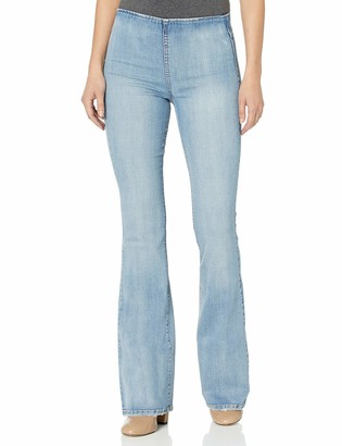 Jessica Simpson Women's Mid Rise Pull On Flare Jean