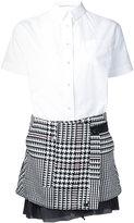 Sacai two part dress - women - Cotton - 2