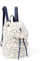 Ralph Lauren Paisley Canvas Backpack