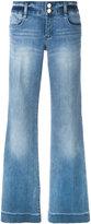 MICHAEL Michael Kors wide leg jeans - women - Cotton/Polyester/Spandex/Elastane - 0