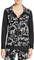 Koral Emblem Camo Print Jacket