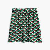 J.Crew Ratti® graphic diamond print skirt