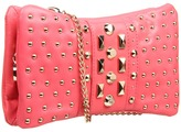 DKNY Gansevoort - Studs Clutch (Pink) - Bags and Luggage