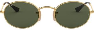 Ray-Ban Oval Flat Lenses sunglasses