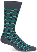 Hot Sox Box Stripe Socks
