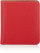 Barneys New York WOMEN'S COLORBLOCKED WALLET-RED