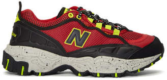 New Balance Red and Black 801 Sneakers