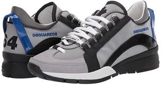DSQUARED2 551 High Sole Sneaker (Grey/Black) Men's Shoes