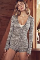 Out From Under Cozy Henley Romper