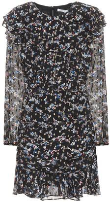 Veronica Beard Parc printed silk-blend dress