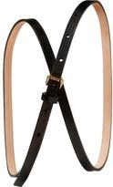 Skinny lizard belt