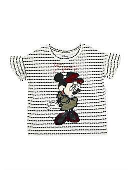 Disney Minnie Mouse Flippy Sequin Tee (Girls 3-10)