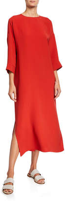 Loro Piana Silk Maxi Sheath Dress