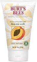 Burt's Bees Peach & Willowbark Deep Pore Scrub - 4 oz