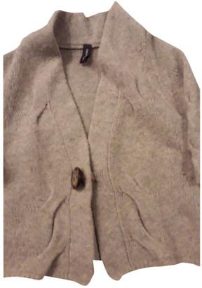 Gotha Beige Wool Knitwear